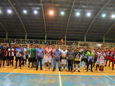 Prefeitura de Sena Madureira realiza solenidade de abertura do Campeonato Municipal de Futsal