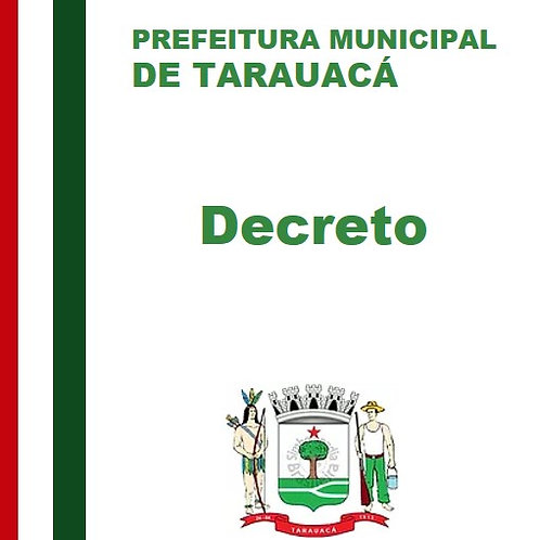 Decreto N° 025/2020 - PEDRO CLAVER DE SOUZA FREIRE
