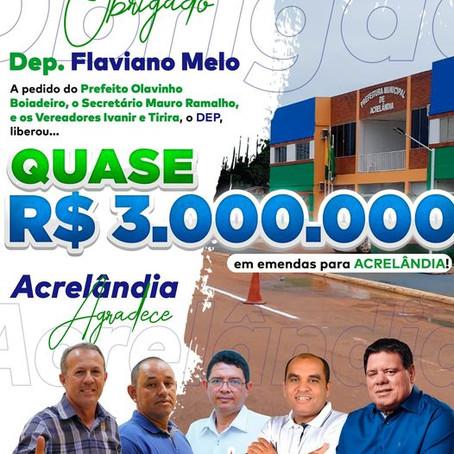 Prefeitura contará com quase 3 milhões em emendas parlamentares na saúde e infraestrutura da cidade
