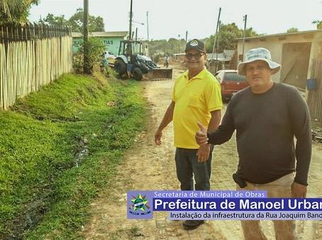 Prefeitura anuncia mais uma rua a ser asfaltada no Bairro Antônio Dias