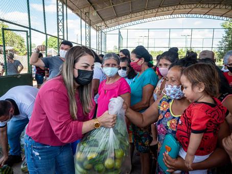 Em Brasileia 240 famílias são beneficiadas com cestas do PAA e com programa Panela Cheia Salva