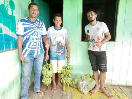 Família acompanhadas pelo CRAS de Marechal Thaumaturgo recebam alimentos do PAA