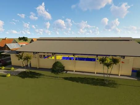 Prefeitura de Manoel Urbano apresenta projeto de Construção de Ginásio de Esportes