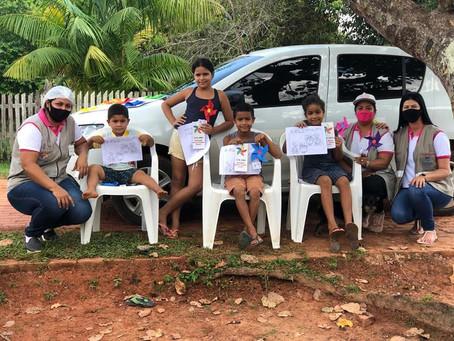 Prefeitura realiza ação para promover o dia mundial contra combate ao trabalho infantil