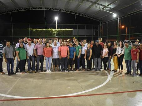 Prefeitura de Brasileia revitaliza praça e quadra esportiva do bairro  Leonardo Barbosa