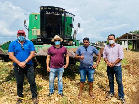 Parceria entre Prefeitura e governo do Estado deve fortalecer ainda mais produção de grãos