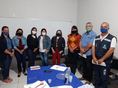 Técnicos da prefeitura participam de curso da Sesacre sobre Determinantes Ambientais