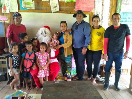 Prefeito Isaac Lima leva gestão para as comunidade ribeirinhas