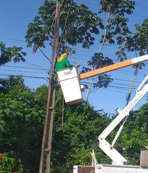 Prefeitura intensifica ações de Manutenção de Iluminação Pública nas Ruas de Xapuri
