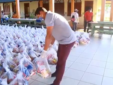 Prefeitura de Porto Acre junto com SEMEC realiza ação de apoio aos alunos da rede municipal