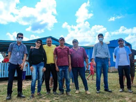 Vice-prefeita visita moradores do ramal Tabocal e explica sobre o programa Luz para Todos