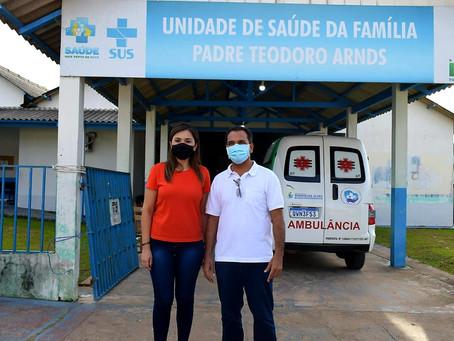Prefeito Jailson Amorim recebe a visita institucional da Deputada Federal Jéssica Sales