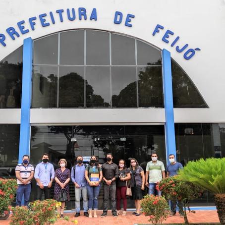 """Prefeitura de Feijó conhece projeto """"cidade empreendedora"""" do Sebrae"""