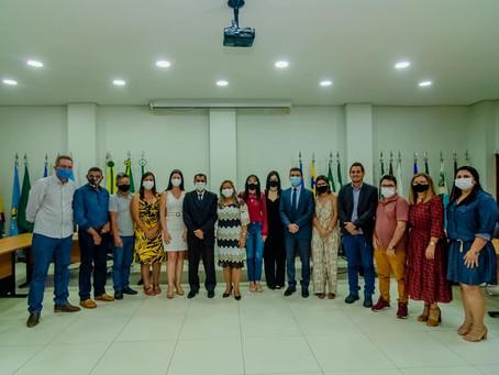 Bené Damasceno, prefeito eleito de Porto Acre, é diplomado em sessão virtual