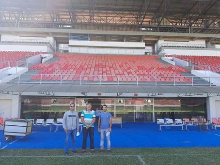 Acrelândia busca parceria para promover campeonatos e ações esportivas no município