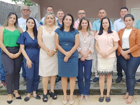 Rosana Gomes anuncia secretários para gestão 2021/2024