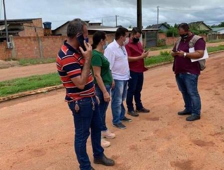 Prefeitura realiza levantamento da situação de vias que necessitam de recapeamento e pavimentação