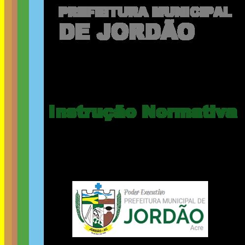 Instrução Normativa N° 001/2020 -