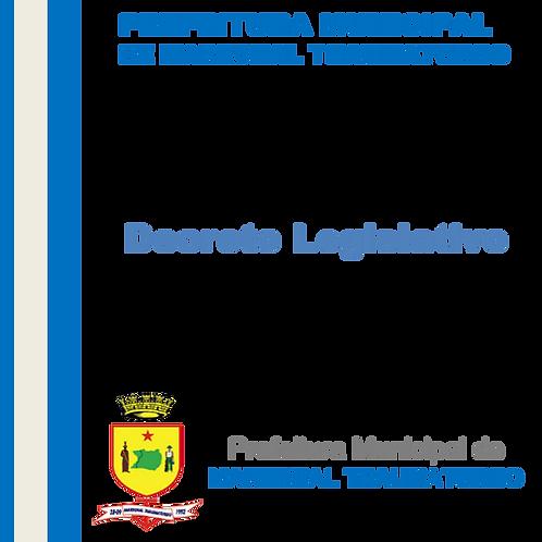 Decreto Legislativo N° 019/2020 -