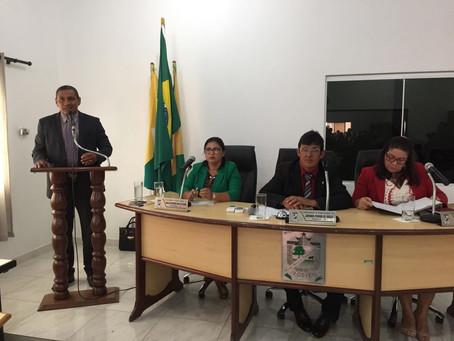 Judson Costa toma posse como Prefeito de Senador Guiomard