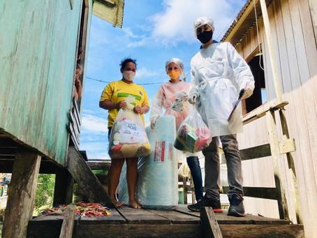Prefeitura agradece SOS Acre pela entrega de donativos as famílias thaumaturguenses