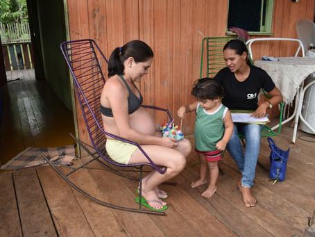 Prefeitura de Brasiléia atende 150 famílias com programa Criança  Feliz