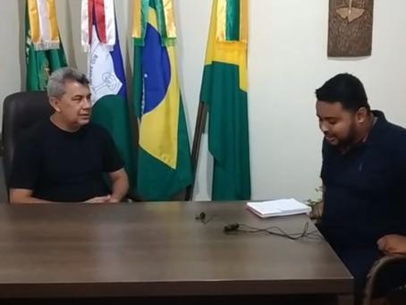 Prefeito Bira Vasconcelos (PT) conta um pouco da sua trajetória como gestor público