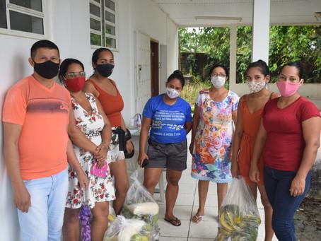 Prefeitura Entrega Kits de Produtos Agrícolas as Famílias de Baixa Renda de Rodrigues Alves