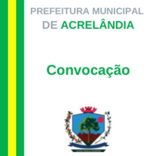 Convocação - Senhora Maria Alves da Silva