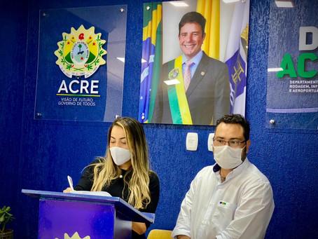 Em Parceria com o Governo, Prefeita Fernanda Hassem assinaconvênio para limpeza da cidade