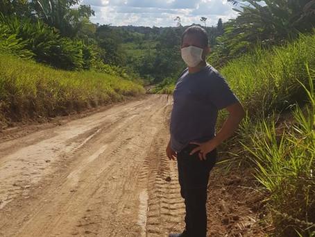 Inicia os trabalhos de abertura de ramais em Marechal Thaumaturgo