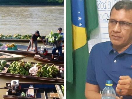 Prefeito Isaac Piyãko fortalece produção agrícola com a compra de produtos para merenda escolar