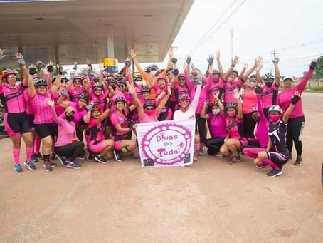 Esporte: 1º passeio ciclístico de Senador Guiomard realizado pelas Divas do Pedal