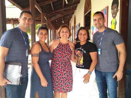 Tribunal de Contas visita escolas de Brasileia para conhecer boas  práticas pedagógicas