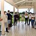 Prefeito Isaac Lima e equipe comemora domingo de Páscoa