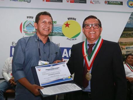 Prefeito Isaac Piyãko integra comitiva acreana que participou do encontro de intercâmbio UCAYALI