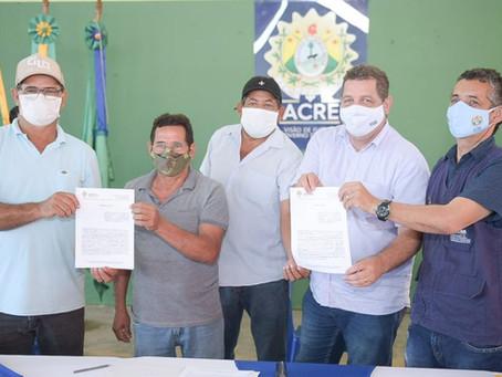Manoel Urbano anuncia investimentos de quase R$ 750 mil com programa Ramais do Acre