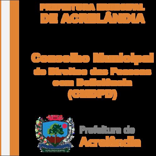 Decreto N° 075/2019 - Nomeia os Novos Representantes do CMDPD
