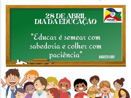 28 de abril - Dia da Educação