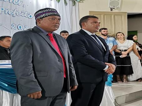 Prefeito Naudo Ribeiro e o vice Fernando Siã são empossados em Jordão