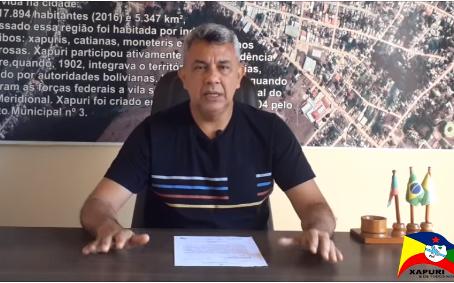 Esclarecimento: Prefeito esclarece situação da balsa de Xapuri