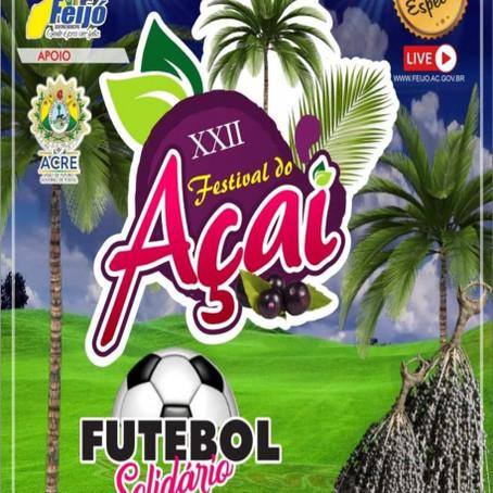 Prefeitura de Feijó divulga programação do 22º Festival do Açaí