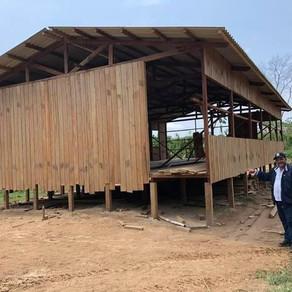 Prefeitura de Porto Walter constrói escola da comunidade Reforma