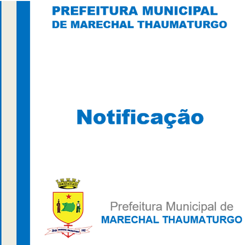 Edital de Notificação -  empresa Terra Nova Construções Comercio Importação