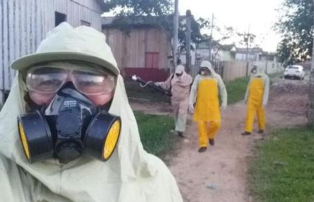 Prefeitura continua o bloqueio químico e ações em pontos estratégicos para combater a dengue