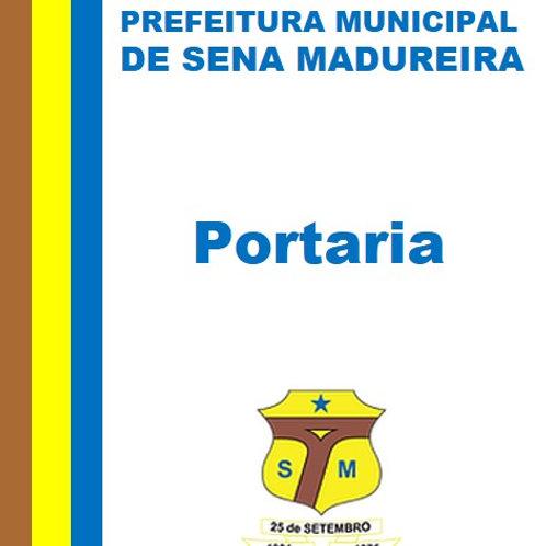 Portaria N° 084/2020 - Exonerar JOSÉ DOUGLAS ARAÚJO