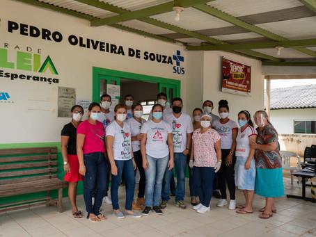 Prefeitura de Brasileia monta 3 frentes de trabalho para imunizar os idosos da zona rural