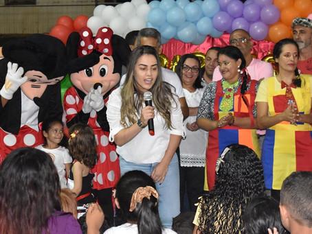 Mais de 2 mil pessoas participam da festa em comemoração ao Dia das Crianças em Brasileia