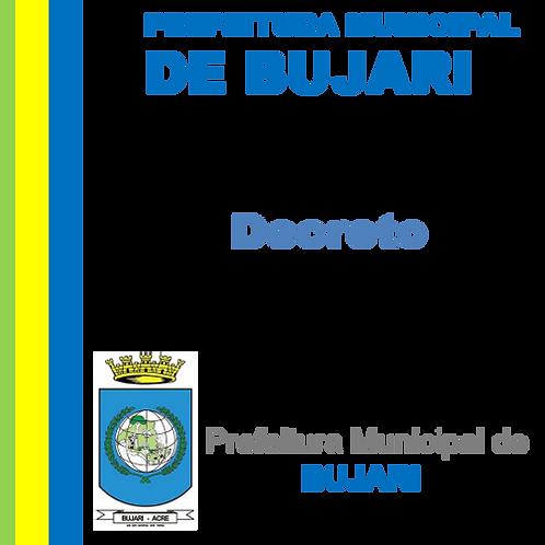 Decreto 109/2021 - Nomear o senhor IRINEU DE ALBUQUERQUE VIEIRA