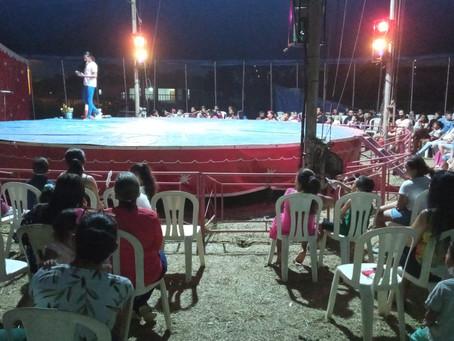 Prefeitura garante Circo gratuito as crianças nesta segunda-feira, 11